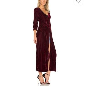 """Privacy Please Dresses - Privacy Please """"Danielle"""" duster/dress in Oxblood"""